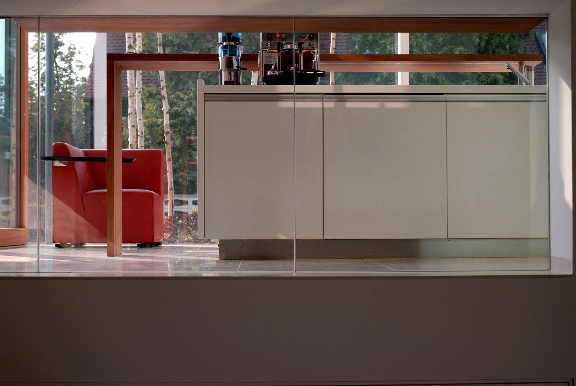 Küche im Musterhaus
