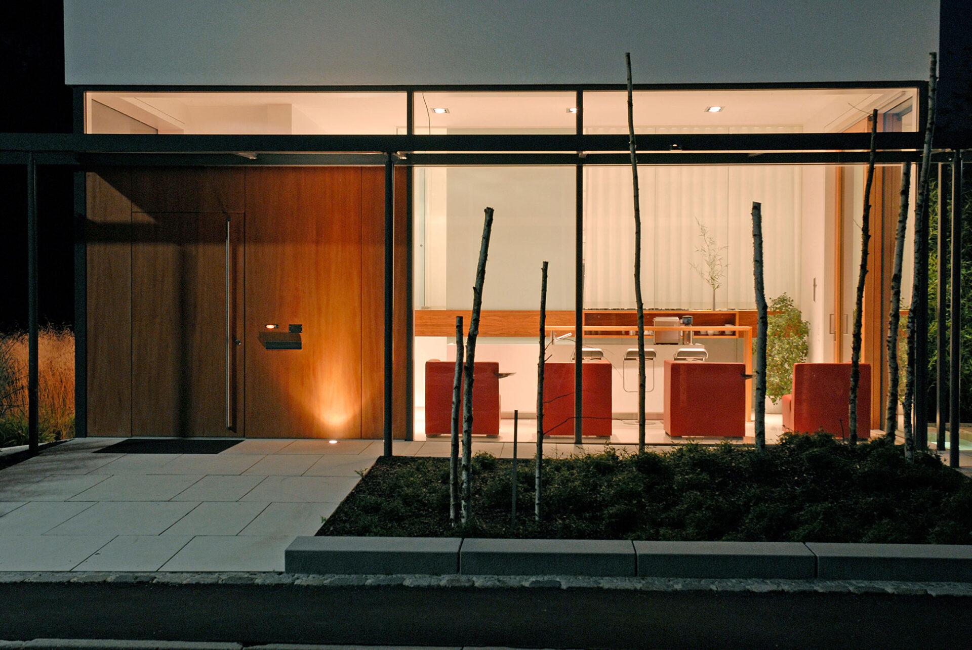 Musterhaus Eingangslobby
