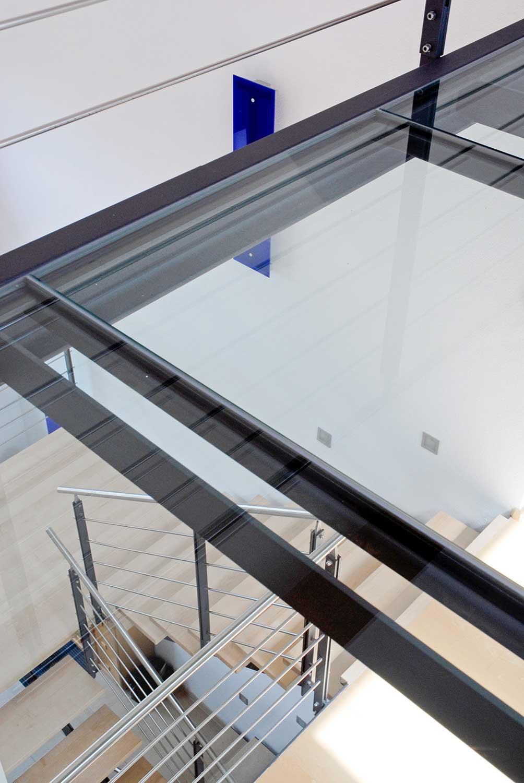 Moderne Treppe vom Architekten in Freising
